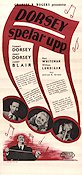 The Fabulous Dorseys 1947 Movie poster Tommy Dorsey