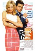 Down with Love 2003 Movie poster Renée Zellweger