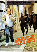 Downtown 1990 poster Anthony Edwards Richard Benjamin