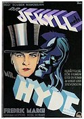 Dr Jekyll and Mr Hyde 1932 Movie poster Fredric March