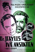 Two Faces of Dr Jekyll 1961 Movie poster Paul Massie