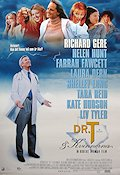 Dr T and the Women 2000 Movie poster Richard Gere Robert Altman