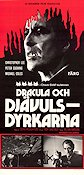 The Satanic Rites of Dracula 1974 Movie poster Christopher Lee
