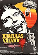 Dracula Has Risen From the Grave 1969 poster Christopher Lee