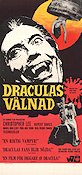 Dracula Has Risen From the Grave 1969 Movie poster Christopher Lee