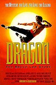 Dragon the Bruce Lee Story 1993 Movie poster Jason Scott Lee