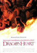 Dragonheart 1996 Movie poster Sean Connery