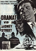 The Siege of Sidney Street 1960 Movie poster Ronald Sinden