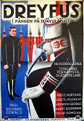 Dreyfus 1930 Movie poster Fritz Kortner Richard Oswald