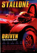 Driven 2001 Movie poster Sylvester Stallone Renny Harlin