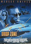 Drop Zone 1994 Movie poster Wesley Snipes