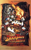 DuckTales the Movie 1990 Movie poster Uncle Scrooge