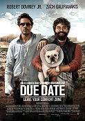 Due Date 2010 poster Robert Downey Jr Todd Phillips