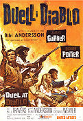 Duel at Diablo 1966 Movie poster Bill Travers