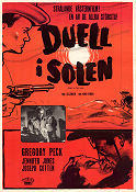 Duel in the Sun 1948 poster Gregory Peck King Vidor