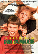 Dumb and Dumber 1994 Movie poster Jim Carrey Bobby Peter Farrelly
