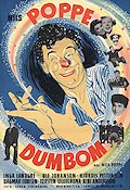 Dumbom 1953 Movie poster Nils Poppe