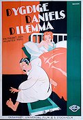 Dygdige Daniels dilemma 1930 Movie poster