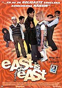 East Is East 1999 Movie poster Damien O'Donnell
