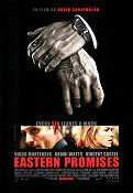Eastern Promises 2007 Movie poster Viggo Mortensen David Cronenberg