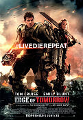 Edge of Tomorrow 2014 poster Tom Cruise