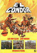 El Condor 1970 Movie poster Lee Van Cleef
