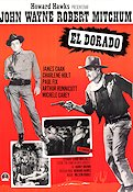 El Dorado 1966 Movie poster John Wayne Howard Hawks
