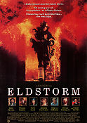 Backdraft 1991 Movie poster Kurt Russell Ron Howard