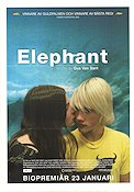 Elephant 2003 Movie poster Alex Frost Gus Van Sant