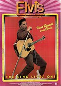 Elvis the Movie 1979 Movie poster Kurt Russell