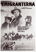Emigranterna 1982 Movie poster James Caan Claude Lelouch