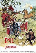 Emil i Lönneberga 1971 Movie poster Olle Hellbom