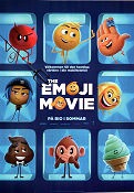 The Emoji Movie 2017 poster TJ Miller Tony Leondis