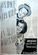 The Way to Love 1934 poster Maurice Chevalier