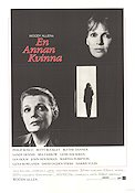 Another Woman 1988 Movie poster Mia Farrow Woody Allen