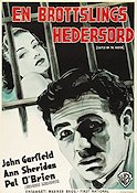 Castle on the Hudson 1940 poster John Garfield
