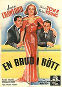 The Bride Wore Red 1937 poster Joan Crawford Dorothy Arzner