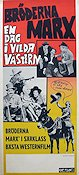 Go West 1940 Movie poster Marx Brothers