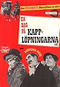 A Day at the Races 1937 poster Bröderna Marx
