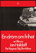 En dr�m om frihet 1969 Movie poster Per Ragnar Jan Halldoff