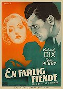 The Devil Is Driving 1937 poster Richard Dix