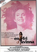 An Unmarried Woman 1978 poster Jill Clayburgh Paul Mazursky