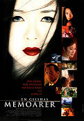 Memoirs of a Geisha 2005 Movie poster Ziyi Zhang Rob Marshall