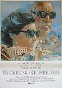 The Greek Tycoon 1979 poster Anthony Quinn