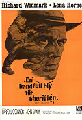 Death of a Gunfighter 1969 poster Richard Widmark Don Siegel