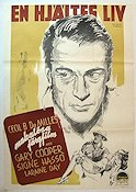 The Story of Dr Wassell 1944 Movie poster Gary Cooper Cecil B DeMille