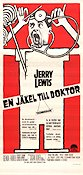 The Disorderly Orderly 1964 poster Jerry Lewis