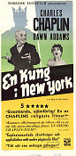 A King in New York 1957 poster Dawn Addams Charlie Chaplin
