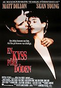 A Kiss Before Dying 1990 Movie poster Matt Dillon