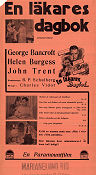 A Doctor´s Diary 1937 poster George Bancroft Charles Vidor